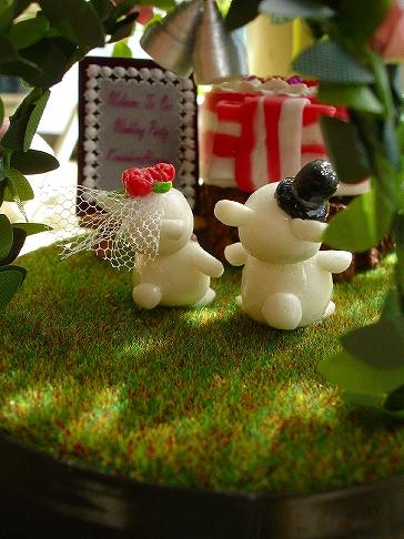 クマの結婚式